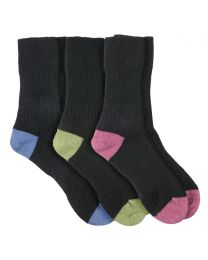 Possum Merino 2 Tone Socks