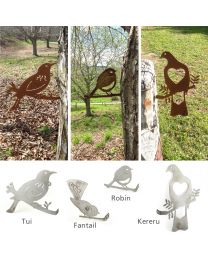 Rustic Metal Bird Art