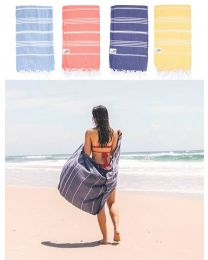 Flatweave Cotton Turkish Towel