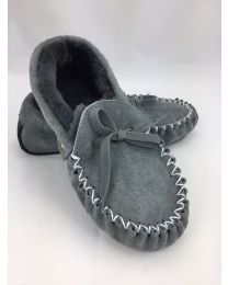 Traditional Hard Sole Sheepskin Moccasins