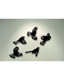Flying Fantails Wall Art Set